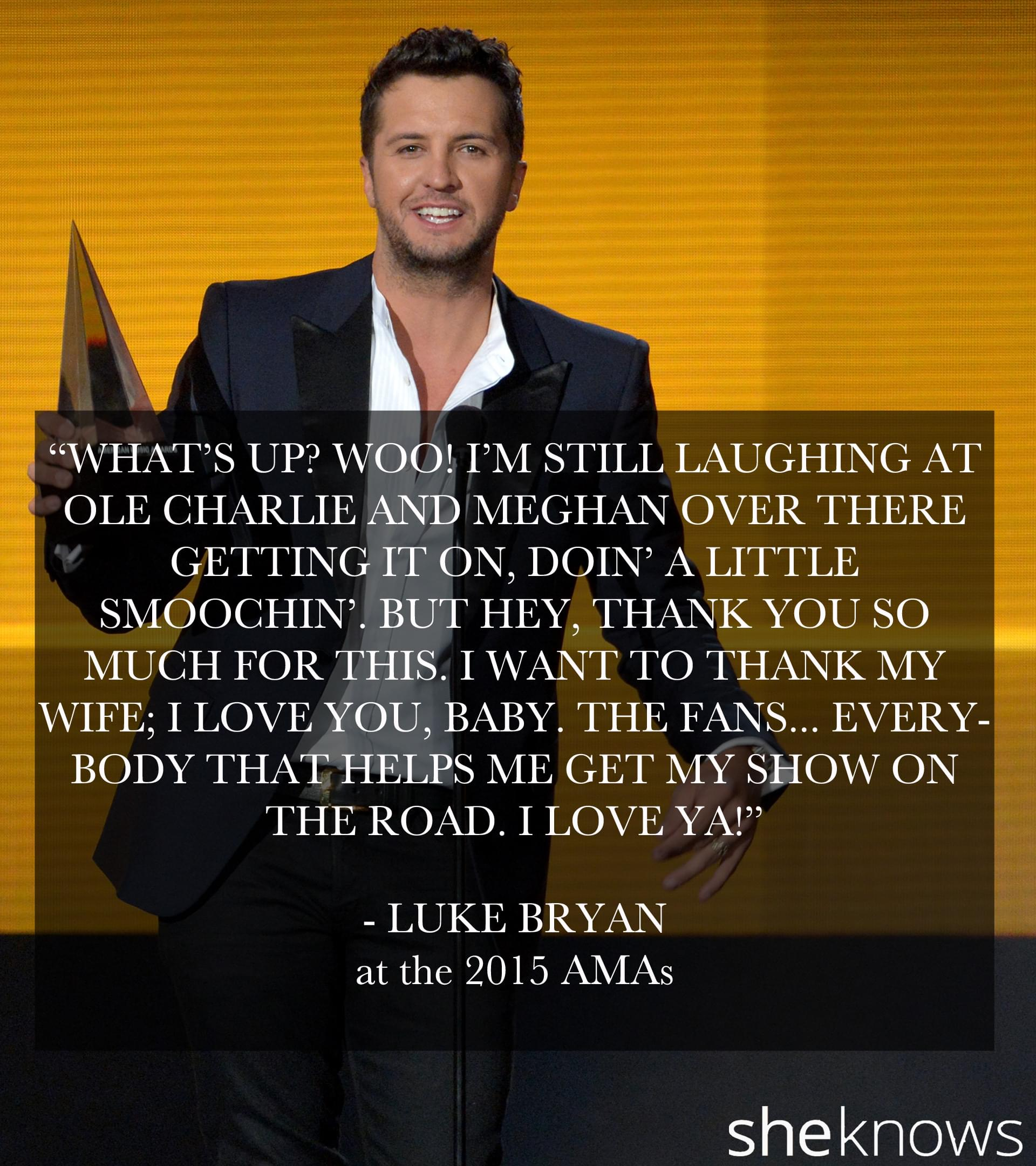 Luke Bryan, Sam Hunt and Carrie Underwood Score At The AMA's