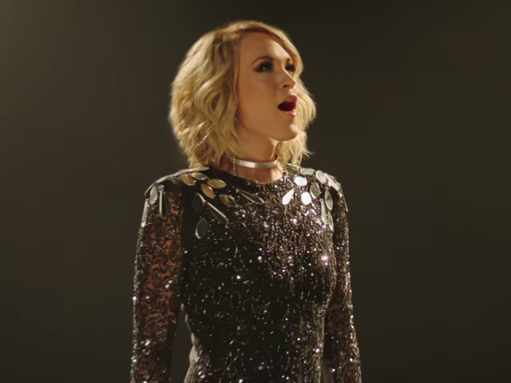 "Listen to Carrie Underwood Sing New ""Oh, Sunday Night"" Theme Song for ""Sunday Night Football"""