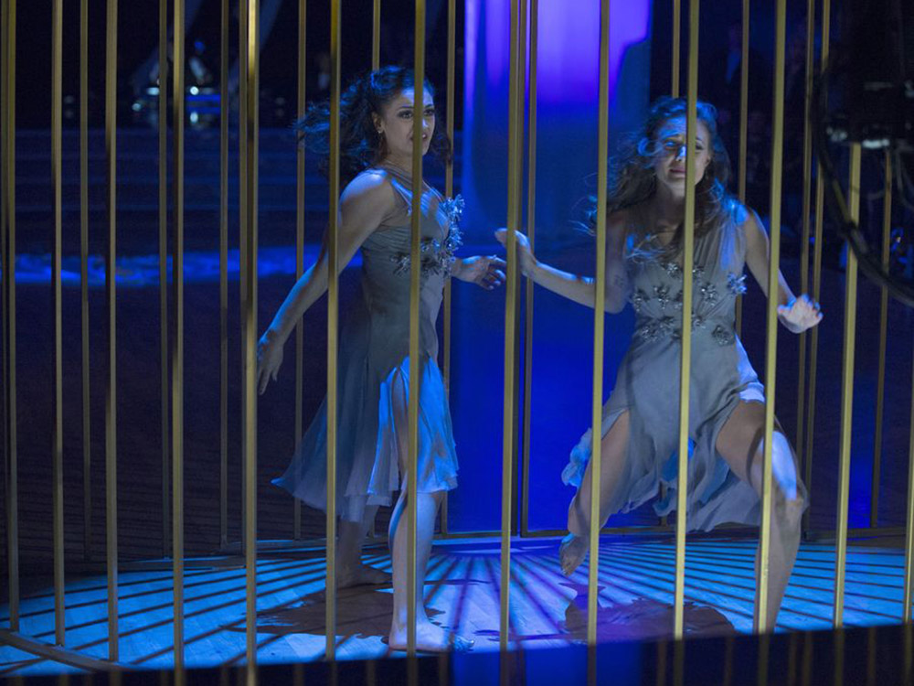 "Jana Kramer Dances Her Way to Two Perfect Scores on ""Dancing With the Stars"""
