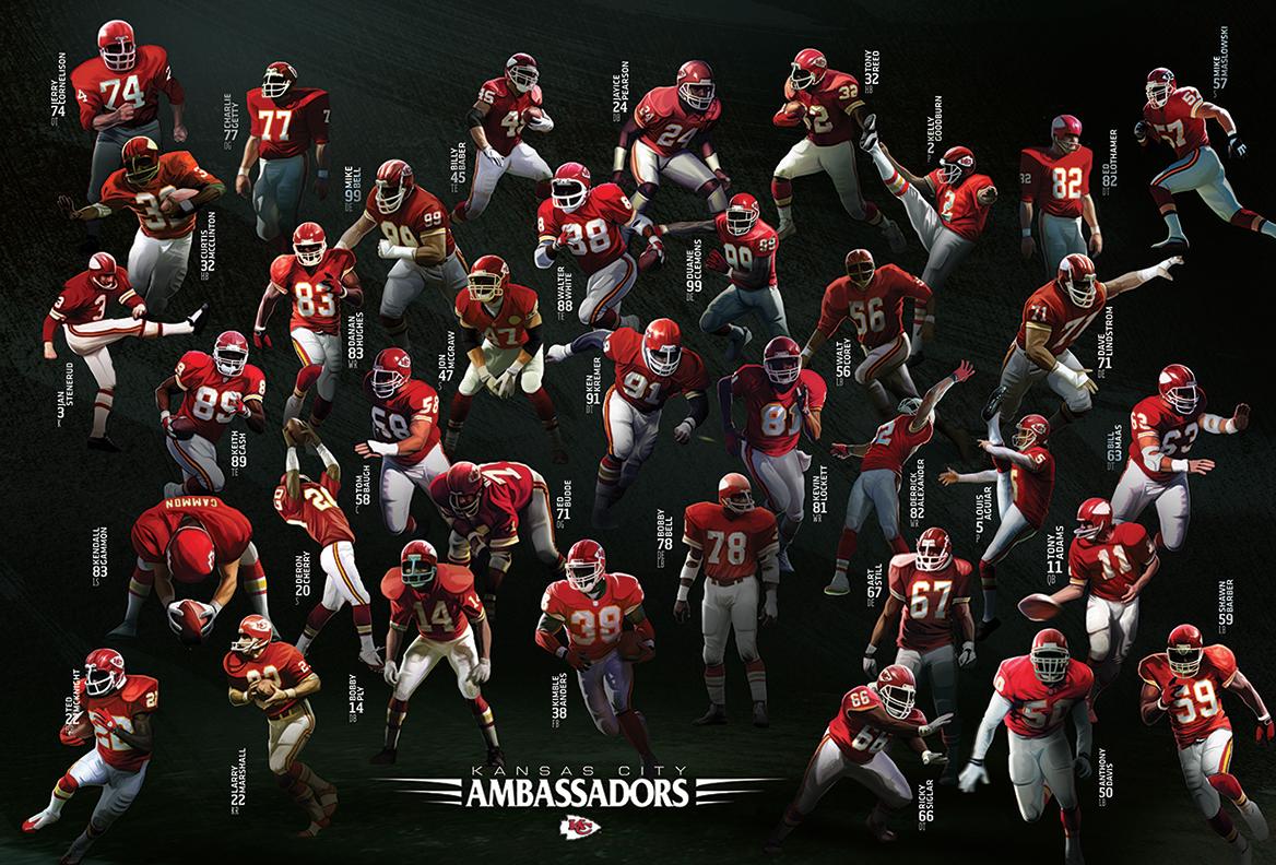 Chiefs Ambassadors – Grab a Piece of Chiefs History!