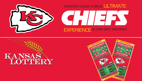 Win Chiefs Kansas Lottery tickets and you could go to the LAST HOME GAME!