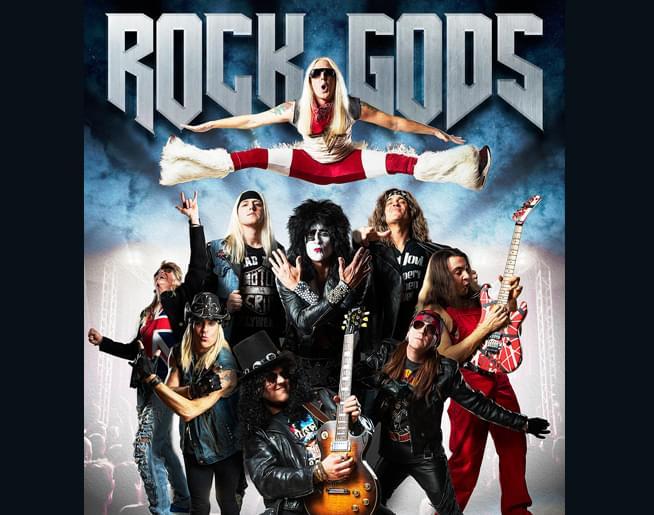 101 The Fox presents Rock Gods Sat, Oct 19