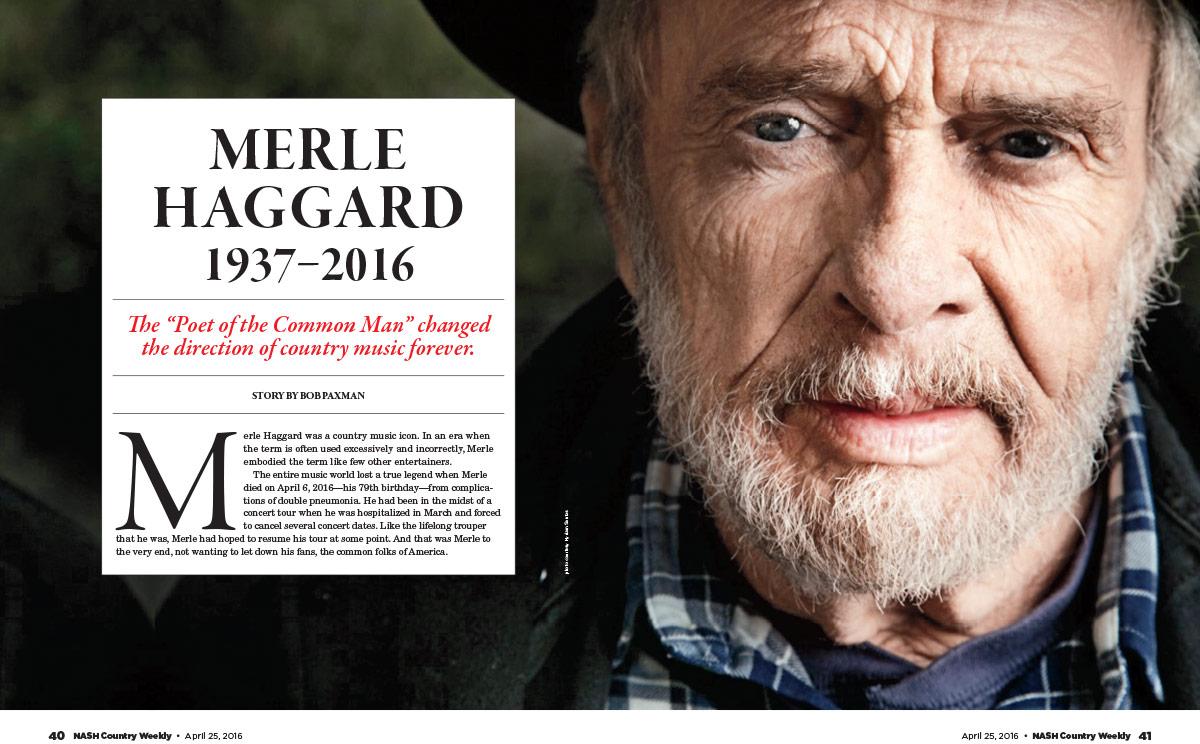 Merle Haggard, 1937—2016