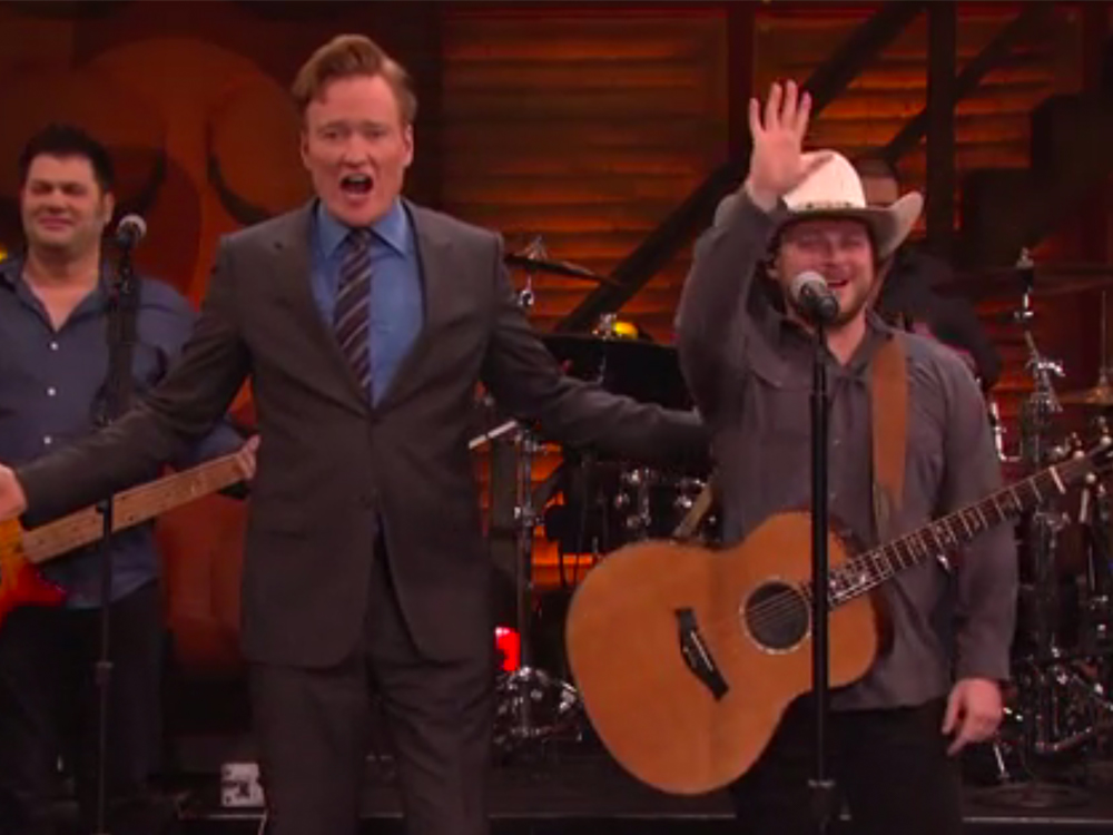 """Did You Forget to Watch Josh Abbott Band Perform """"Amnesia"""" on """"Conan"""" Last Night? Don't Worry, We've Got Ya Covered"""
