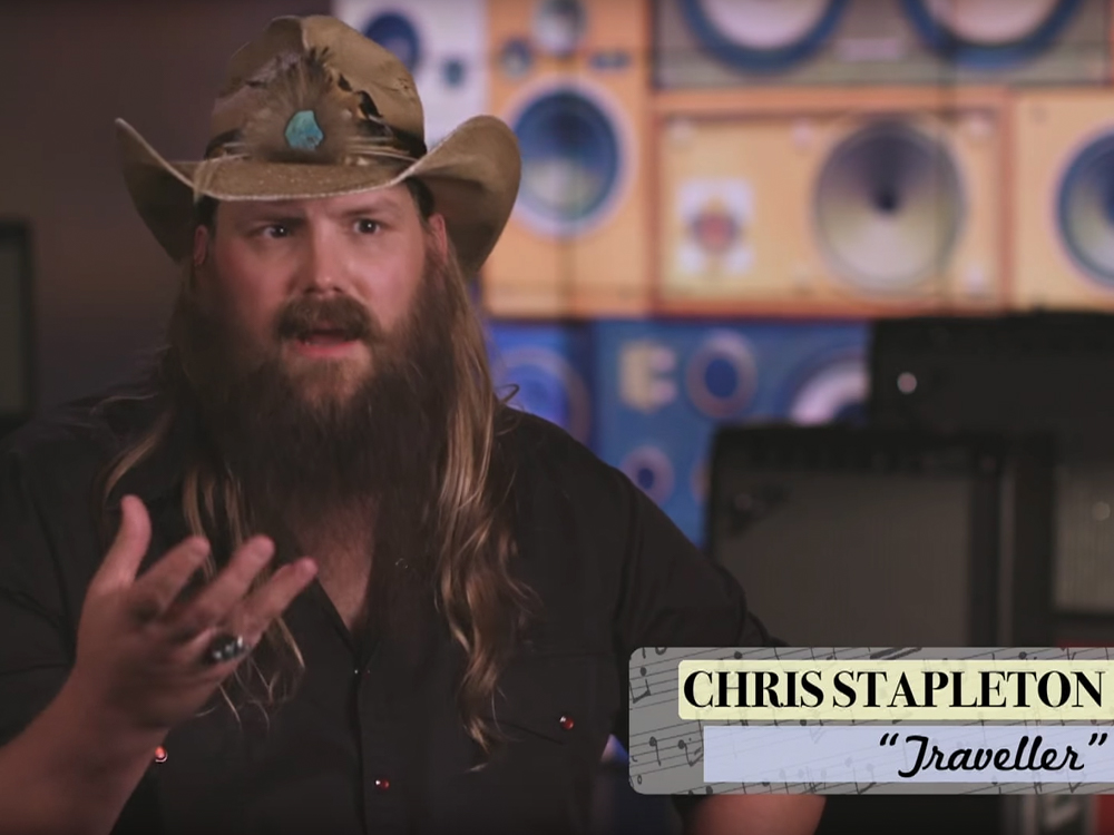 """Watch Chris Stapleton Share With Jimmy Fallon the Not-So-Serious Meaning Behind the Lyrics to """"Traveller"""""""