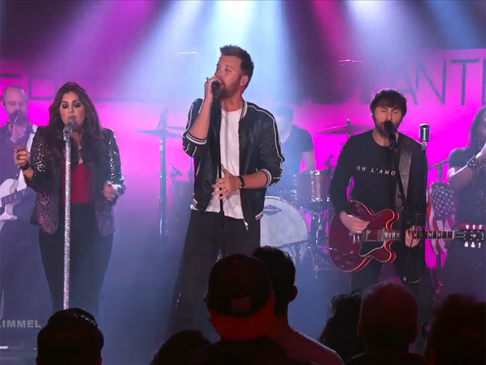 "Lady Antebellum Makes Looking Good Seem Easy on ""Jimmy Kimmel Live"""