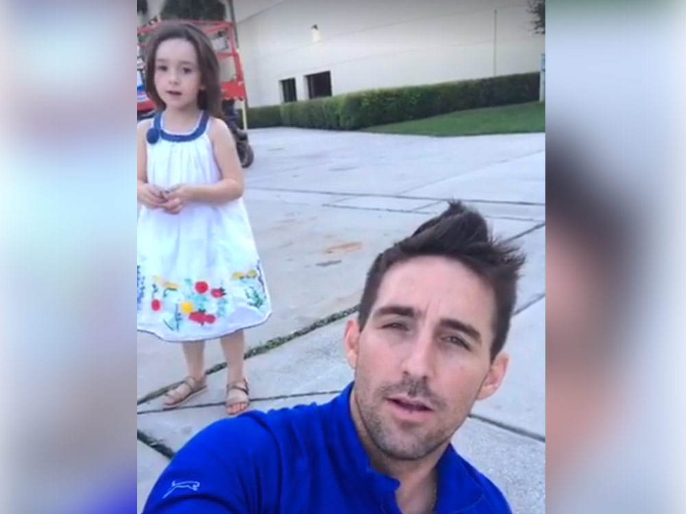 Watch Jake Owen Play 10 Questions With His Very Cute 4-Year-Old Daughter, Pearl