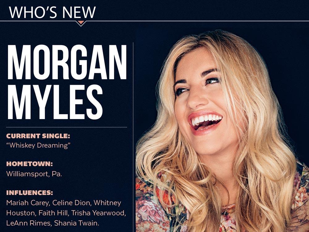 Who's New: Morgan Myles