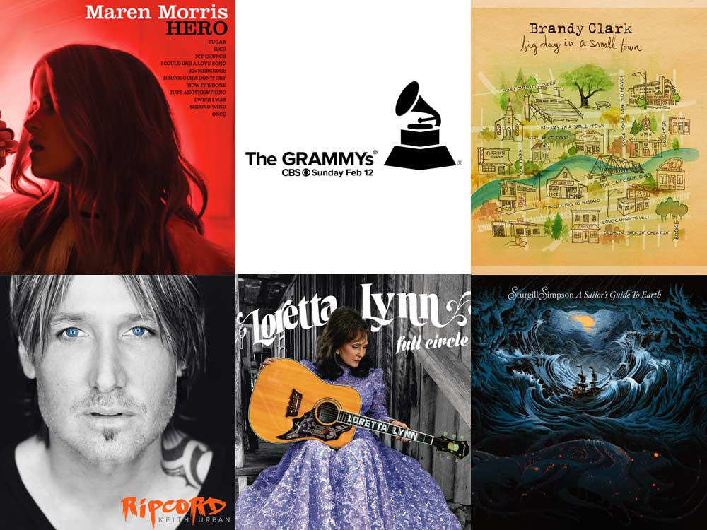 VOTE: Who Should Win the Grammy for Best Country Album?