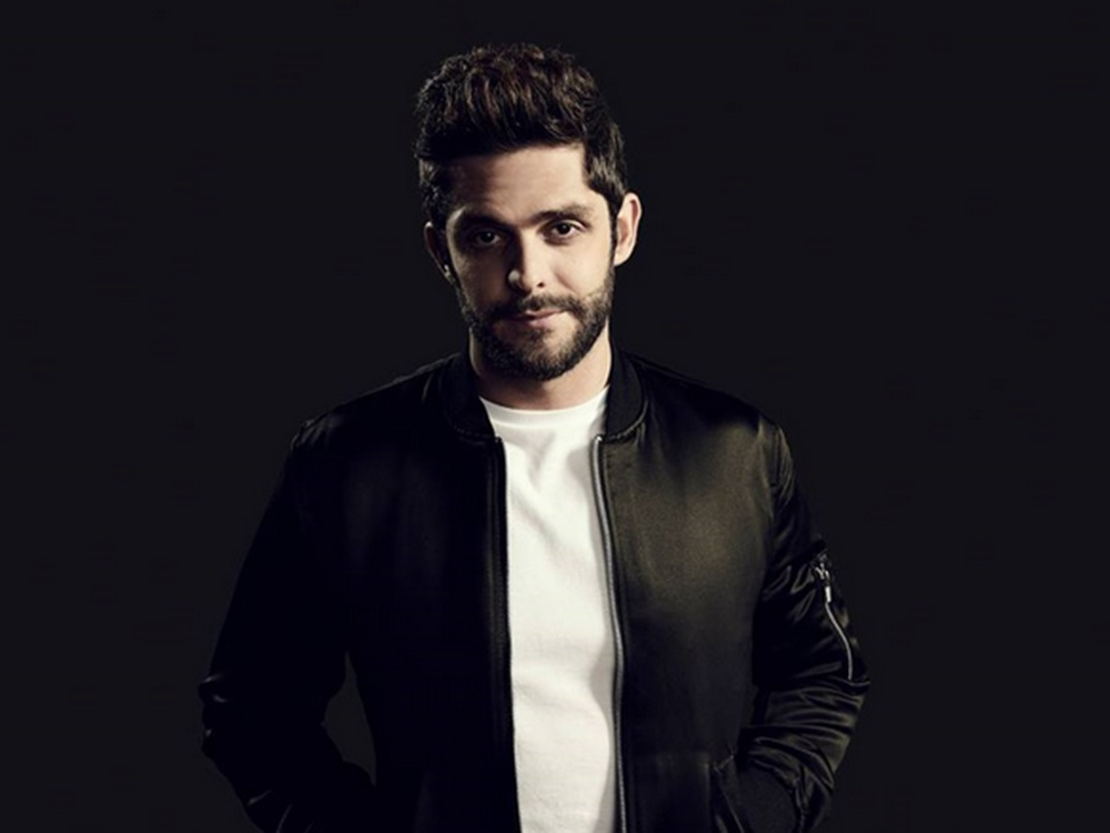 """Thomas Rhett Throws Kung Fu Party to Celebrate Two No. 1 Songs, """"T-Shirt"""" and """"Star of the Show"""""""