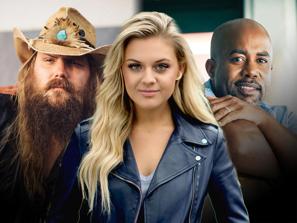 The Academy of Country Music Announces More Than 50 Artists in the Lineup for Events Surrounding the ACM Awards, Including Darius Rucker, Chris Stapleton, Kelsea Ballerini & More