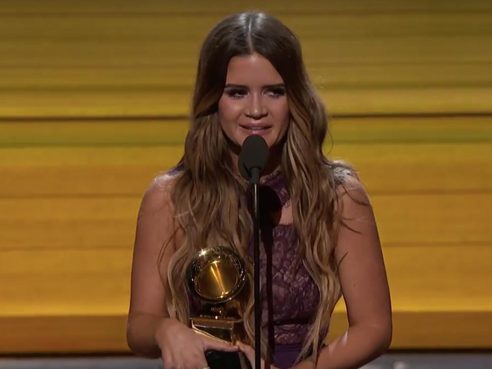 Speech, Speech! Watch Maren Morris, Sturgill Simpson and Lady Antebellum's Hillary Scott Win Their Grammy Awards
