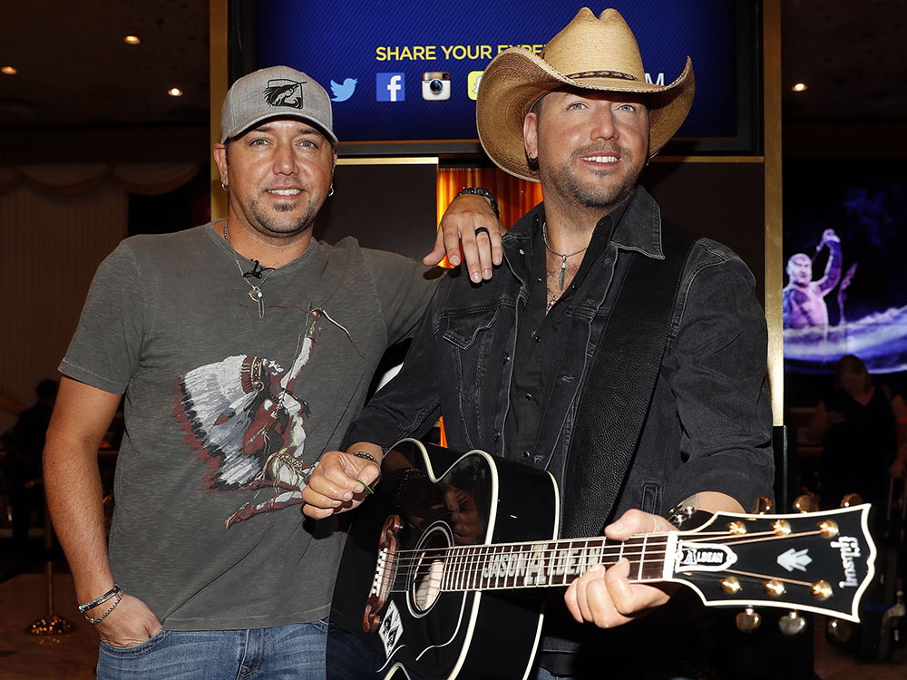 Jason Aldean's Wax Figure Gets Unveiled in Las Vegas