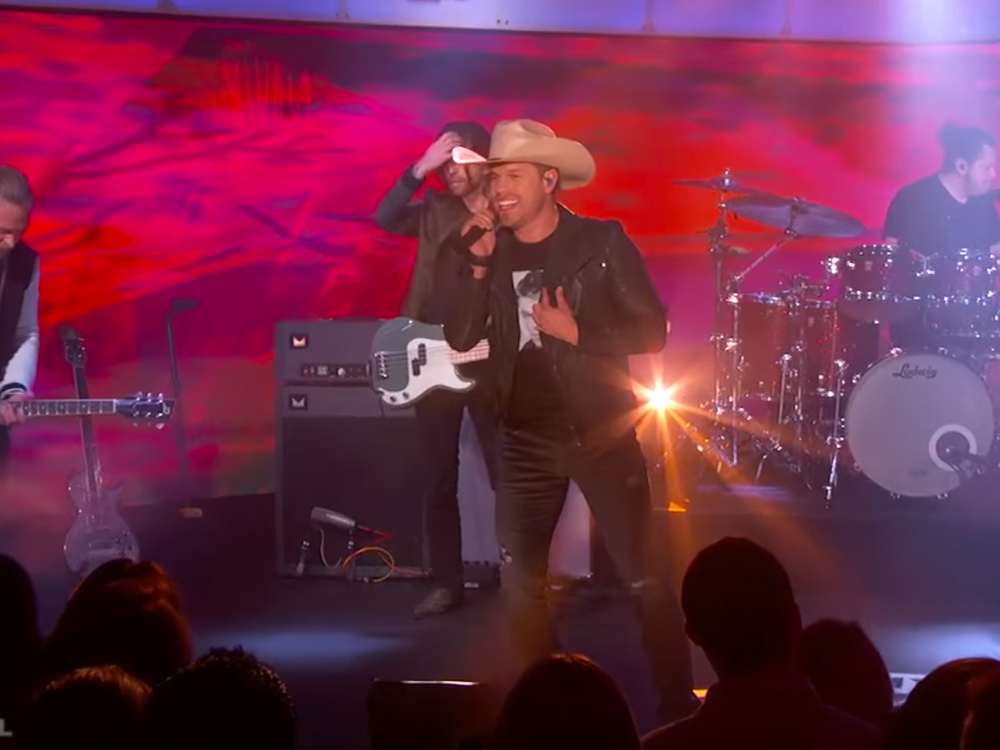 """Watch Dustin Lynch Perform """"Small Town Boy"""" on the Big Stage of """"Jimmy Kimmel Live"""""""