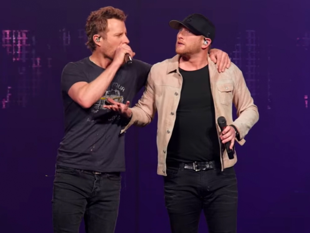 """Cole Swindell Has Been Waiting for Dierks Bentley to Record """"Flatliner"""" for 4 Years: """"It Was a Running Joke Every Time We'd See Each Other"""""""