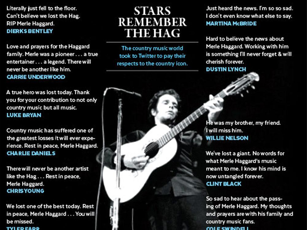 Stars Remember Merle Haggard