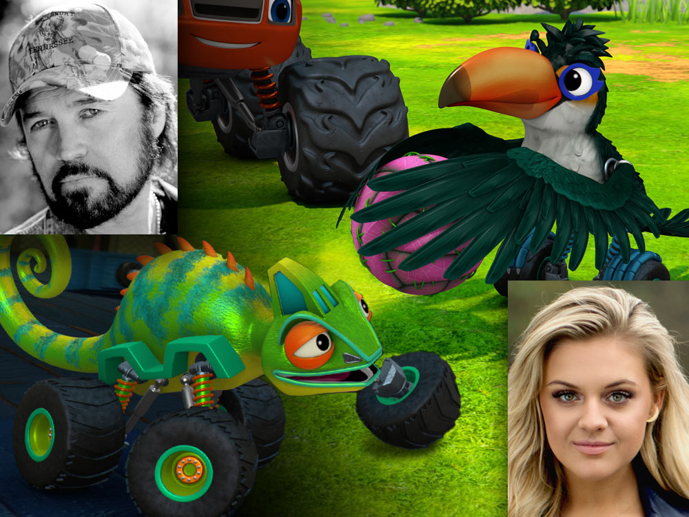 "Kelsea Ballerini and Billy Ray Cyrus Will Guest Star on Nickelodeon's ""Blaze and the Monster Machines"" [Watch Clips]"