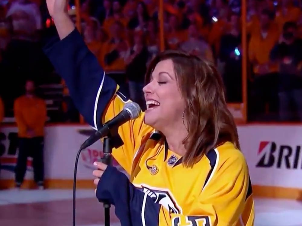 Watch Martina McBride Sing the National Anthem Before Game 3 of the Stanley Cup Final