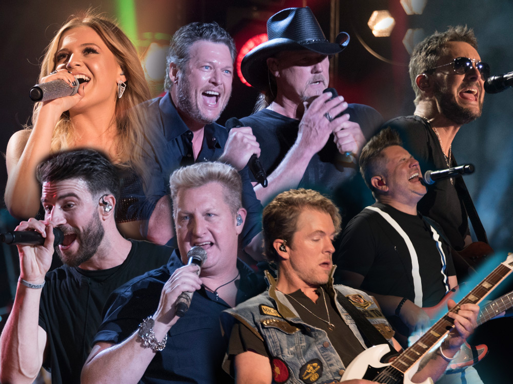 Night 2 Photo Gallery: CMA Fest's Nissan Stadium With Trace Adkins, Sam Hunt, Rascal Flatts, Kelsea Ballerini, Eric Church, Blake Shelton & More