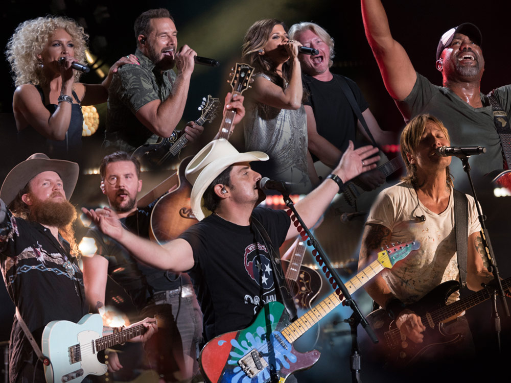 Night 4 Photo Gallery: CMA Fest's Nissan Stadium With Brad Paisley, Keith Urban, Little Big Town, Darius Rucker, Brothers Osborne & More