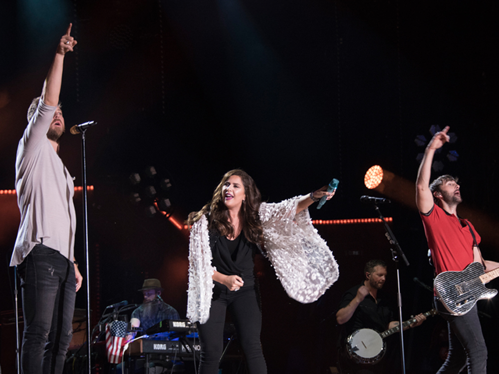 "Lady Antebellum Is Back in Familiar Territory as New Album, ""Heart Break,"" Hits Top Spot"