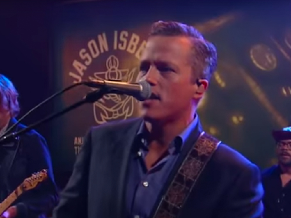 """Watch Jason Isbell Perform """"Hope the High Road"""" on """"The Late Show"""""""