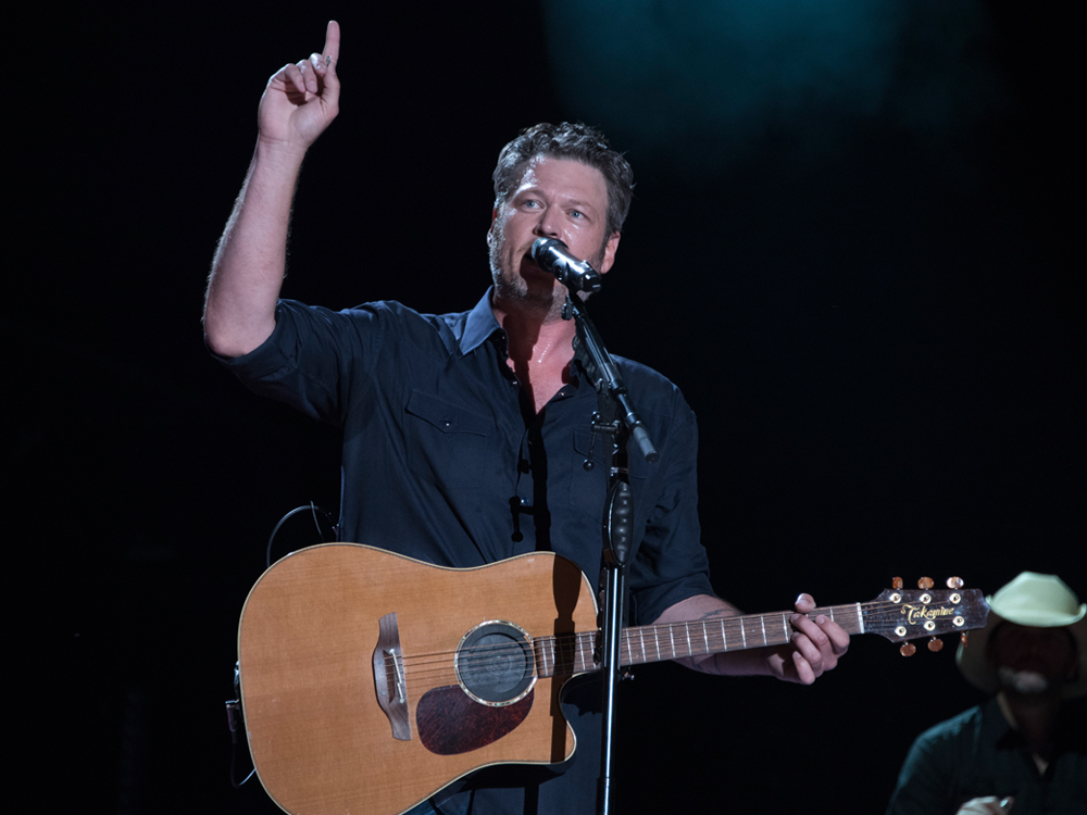 """Blake Shelton Shoots to the Top of the Charts With 24th No. 1 Single, """"Every Time I Hear That Song"""""""