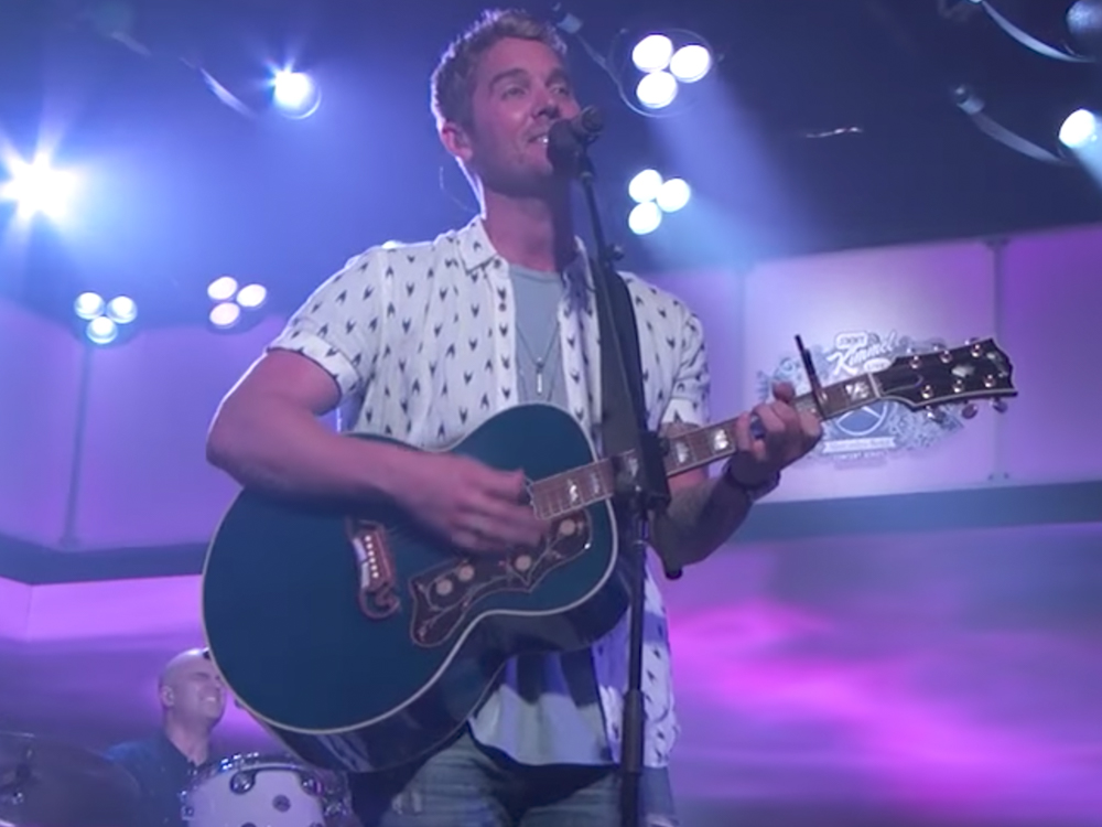 """Watch Brett Young Perform """"In Case You Didn't Know"""" and """"Like I Loved You"""" on """"Jimmy Kimmel"""""""