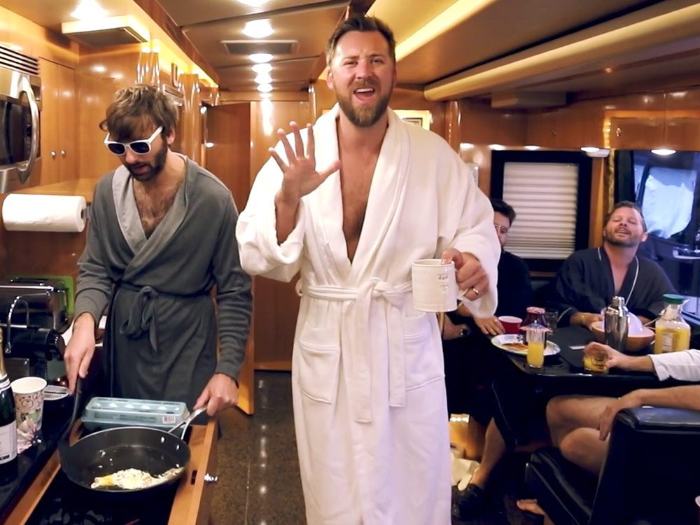 "Lady Antebellum Parodies Sam Hunt with ""Party In a Bathrobe"""