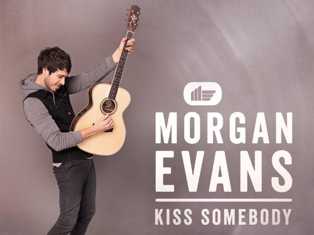 "Morgan Evans Releases Debut Single, ""Kiss Somebody"""