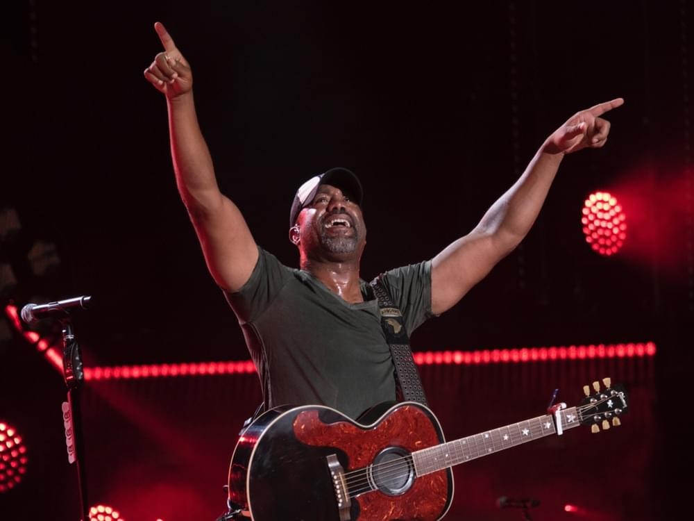 "Darius Rucker, Luke Bryan, Jason Aldean & Charles Kelley Collaborate on ""Straight to Hell"" Video"