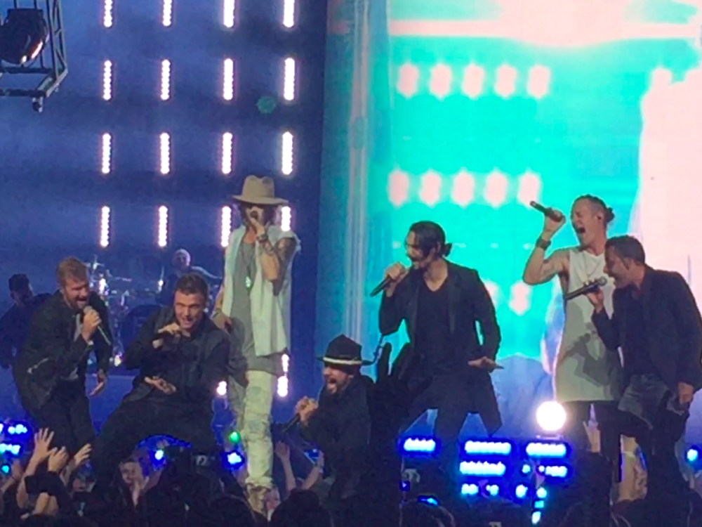 """Florida Georgia Line Teams Up With the Backstreet Boys for Upcoming """"CMT Crossroads"""""""