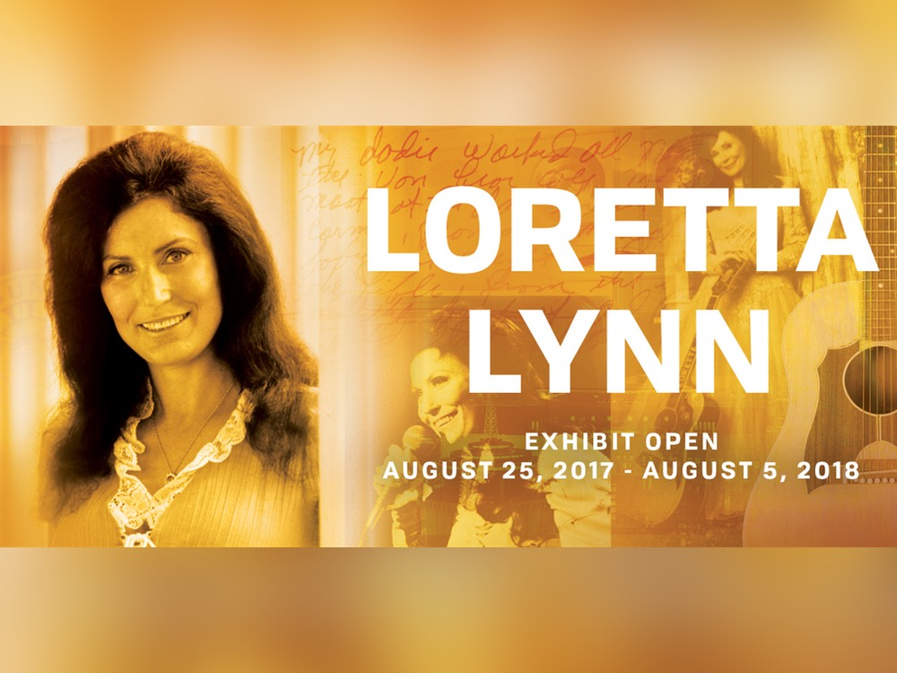 Loretta Lynn's Country Music Hall of Fame Exhibit to Open Aug. 25