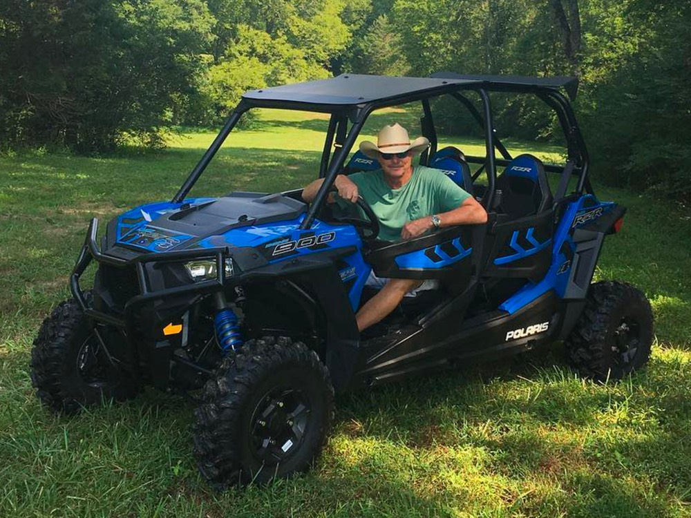 Social Media Roundup: Alan Jackson's ATV, Chris Janson's Wild Ride, Reba's Snack Basket & More