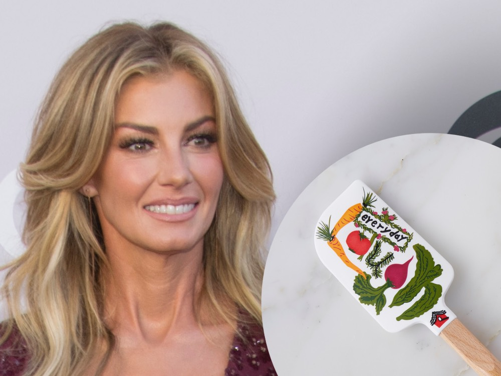 Faith Hill Designs Spatula for Charity Campaign to Help End Childhood Hunger in America