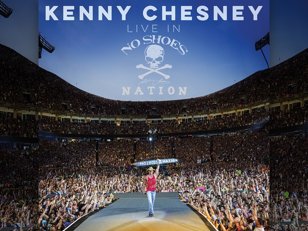 """Kenny Chesney Reveals Track List for New Album, """"Live In No Shoes Nation"""""""
