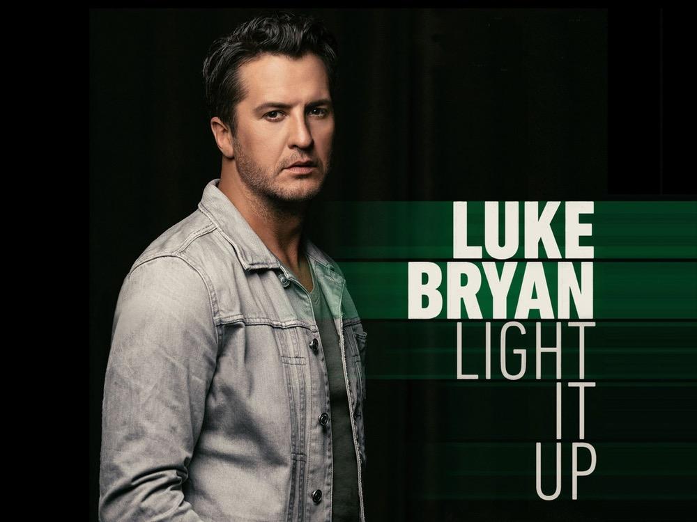 "Listen to Luke Bryan's Brand-New Single, ""Light It Up"" + Check Out the Lyrics"