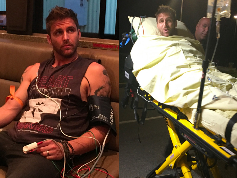 "Canaan Smith Hospitalized After Illness But ""Feeling Much Better"" Today"