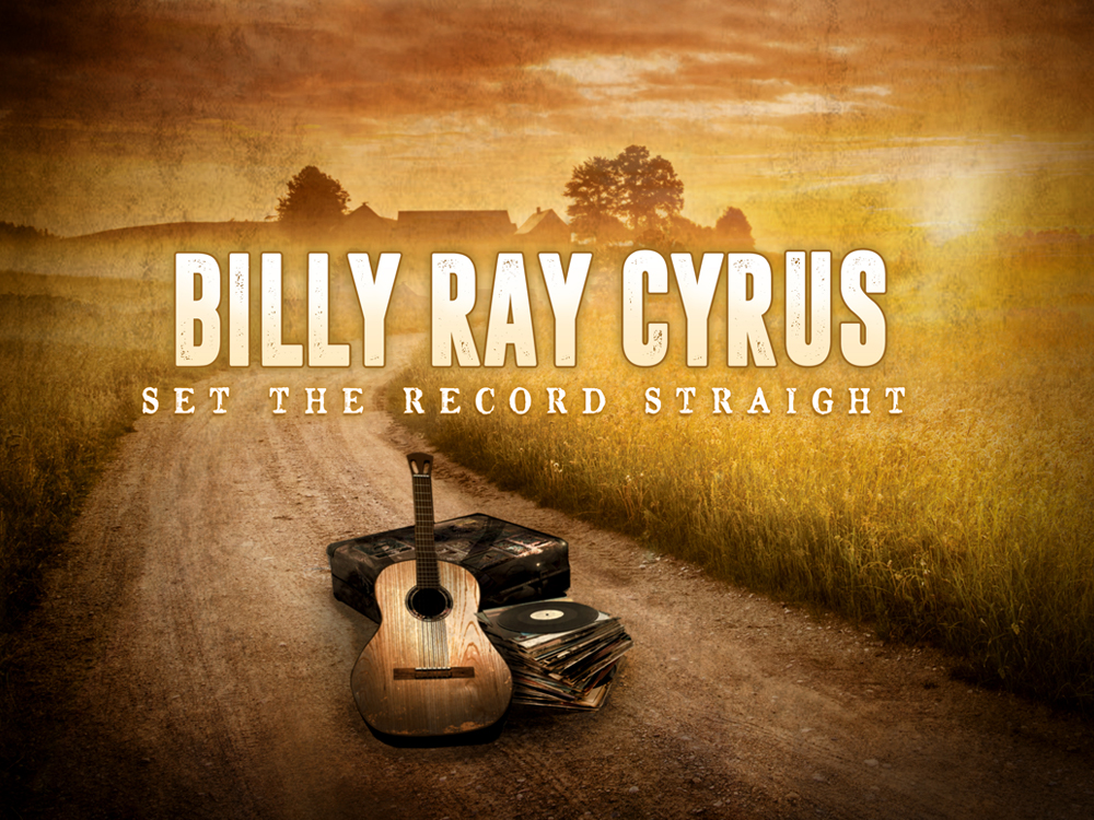 "Billy Ray Cyrus Announces New Album, ""Set the Record Straight,"" Featuring Loretta Lynn, Ronnie Milsap, Miley Cyrus & More"