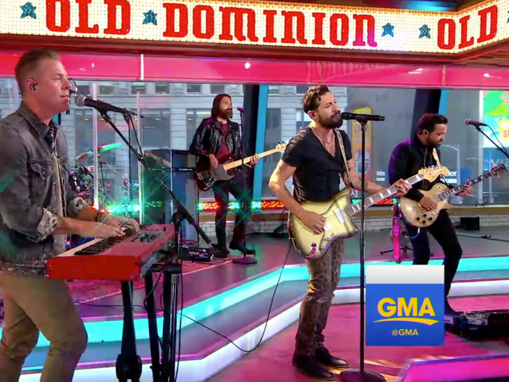 """Watch Old Dominion Perform """"No Such Thing as a Broken Heart"""" on """"GMA"""""""