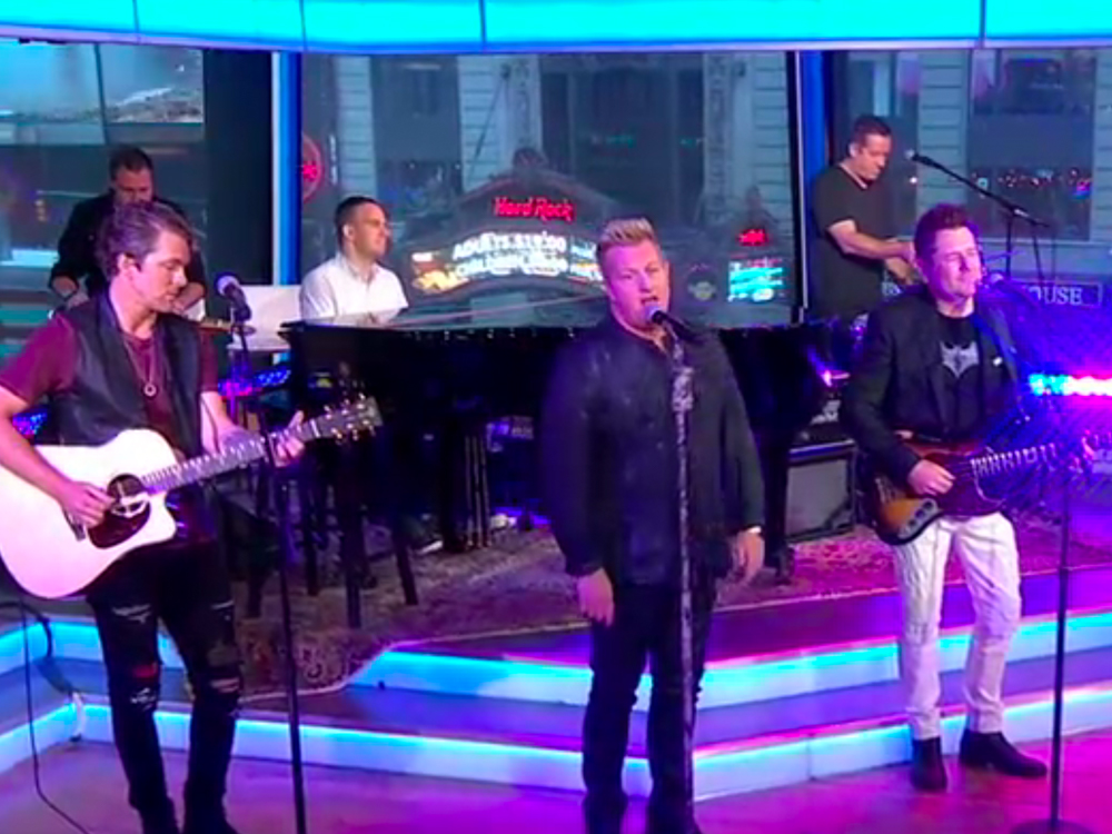 """Watch Rascal Flatts Perform """"I Won't Let Go"""" as Part of Hurricane Relief Fundraiser on """"Good Morning America"""""""