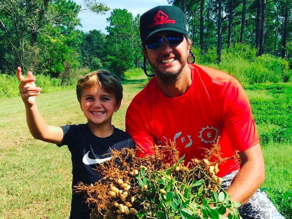 Social Media Roundup: Luke Bryan's Son Goes Peanut Pickin', Florida Georgia Line's Caption Contest and More