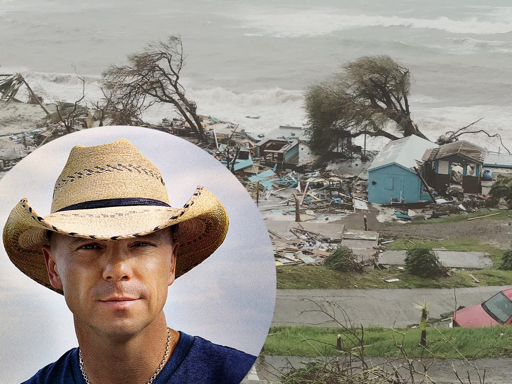 """Kenny Chesney's St. John House is """"Simply Gone"""" After Hurricane Irma, Creating """"Love for Love City"""" Foundation to Help Island Residents"""