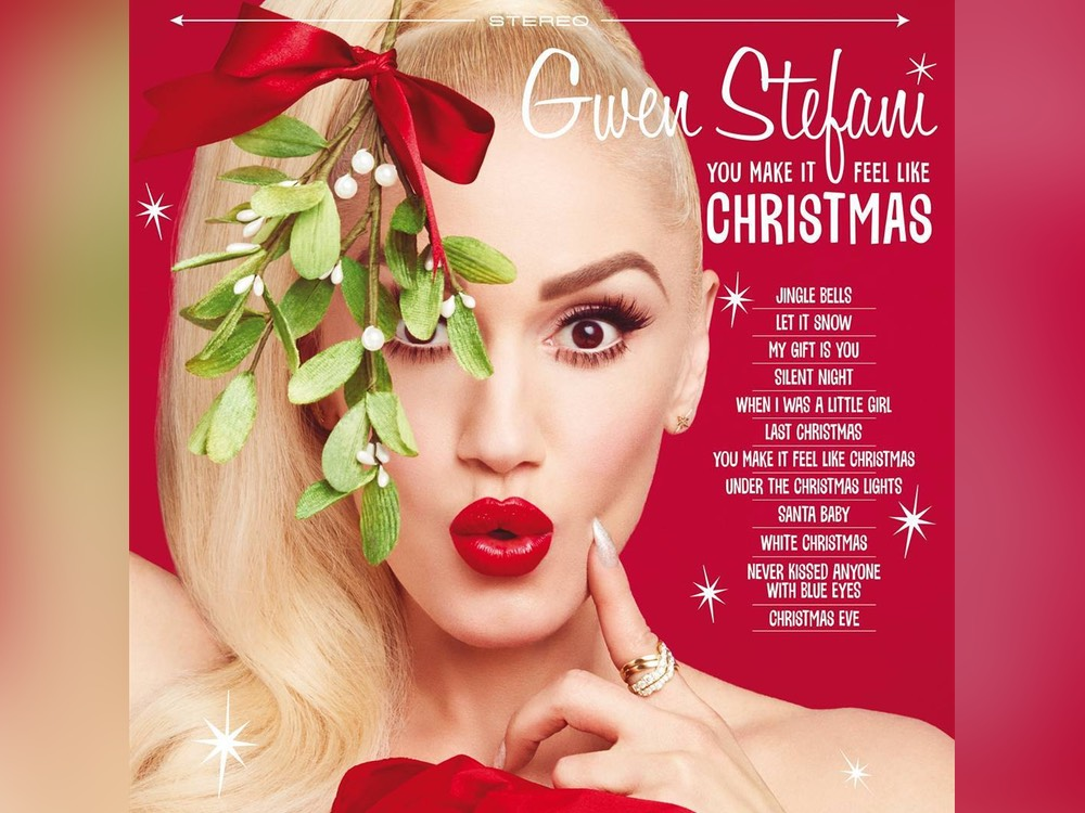 "Listen to Gwen Stefani's New Holiday Tune Featuring Blake Shelton: ""You Make It Feel Like Christmas"""