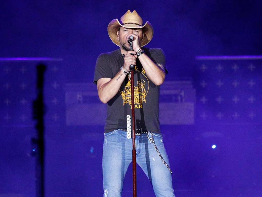 Jason Aldean Makes Surprise Visit to Las Vegas Mass Shooting Survivor