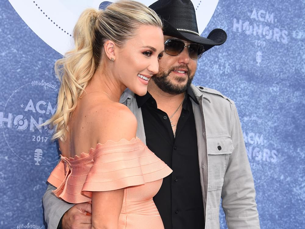 Jason Aldean & Wife Brittany Welcome Son, Memphis