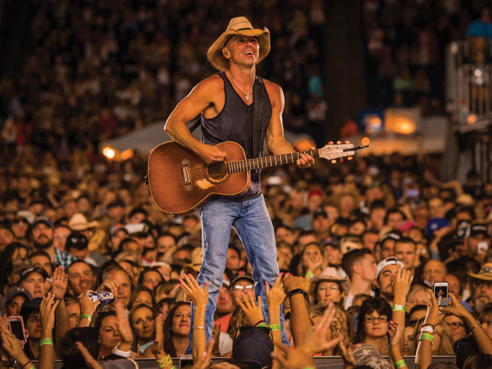"Kenny Chesney Adds 21 Amphitheater Shows to His ""Trip Around the Sun Tour"""
