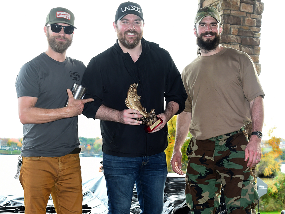 Dierks Bentley, Chris Young, Sam Hunt & More Go Fishing to Benefit Cancer Research [Photo Gallery]