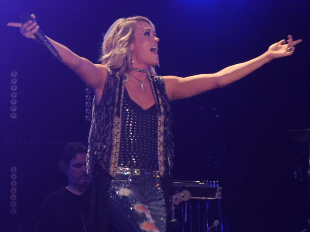 "Listen to Carrie Underwood's Hopeful New Single, ""Love Wins"""