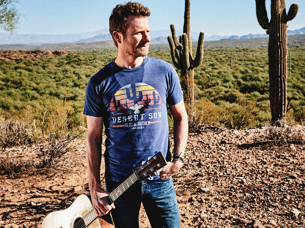 """Dierks Bentley Launches New """"Desert Son"""" Clothing Line"""